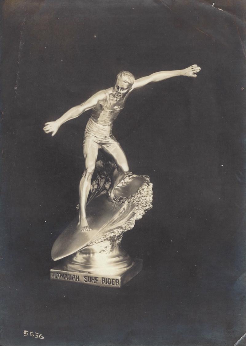 Surfer Sculpture