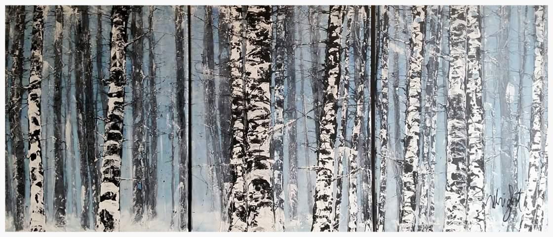 Origional   Snow Triptych