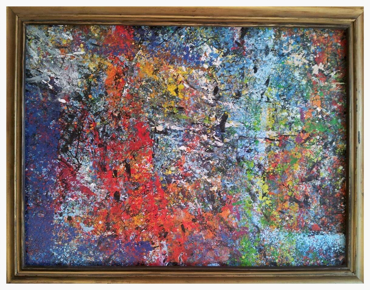 "2 Years | 55x43"" (Frame Included)"