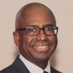 Board President Ronald Johnson
