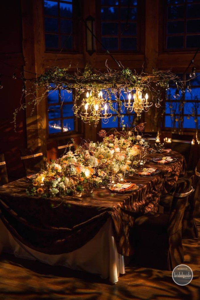 Calgary Bridal Guide Photoshoot - Wedding Invitations Table Number