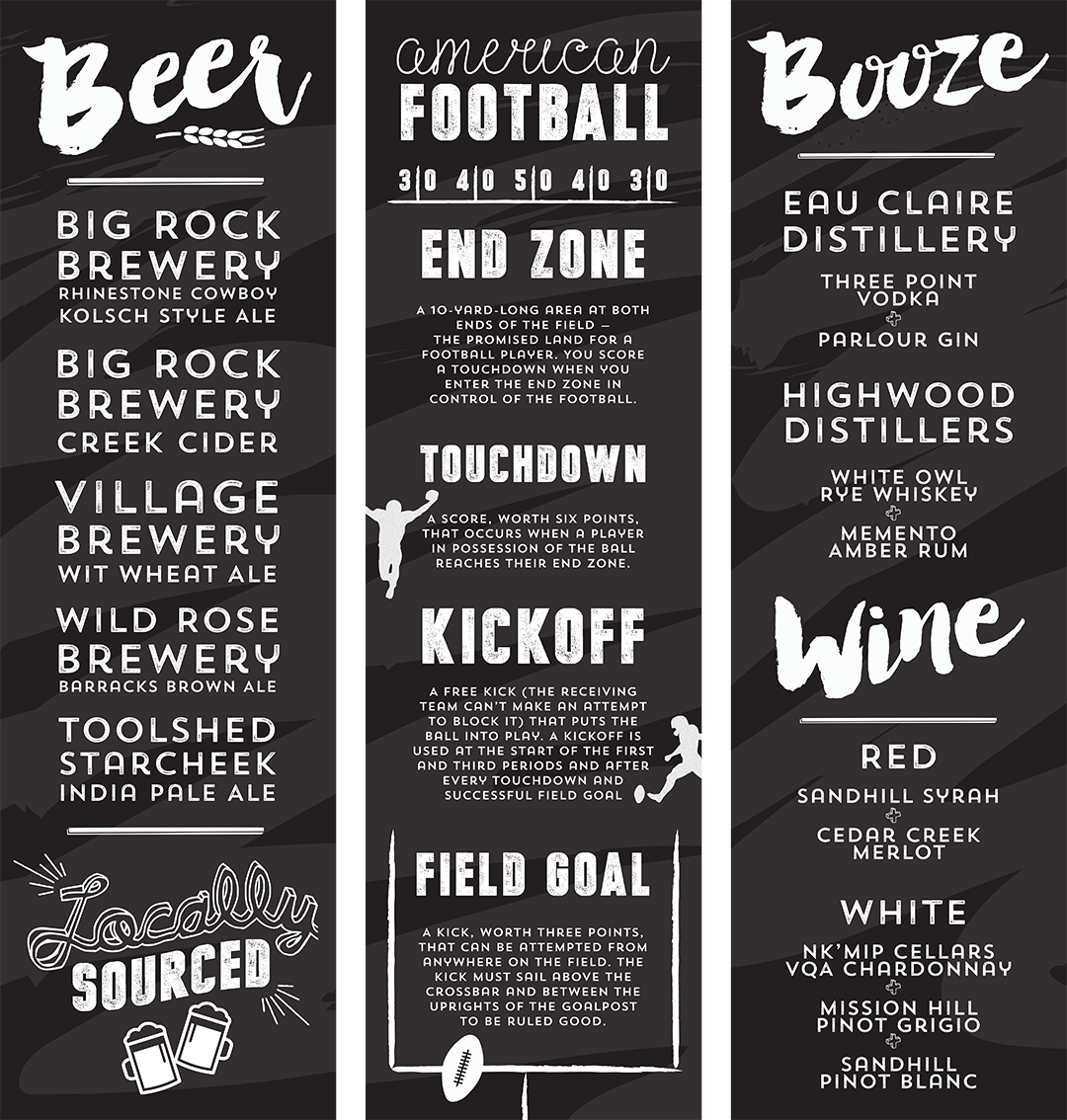 Corporate Signage Design - Beer and Booze