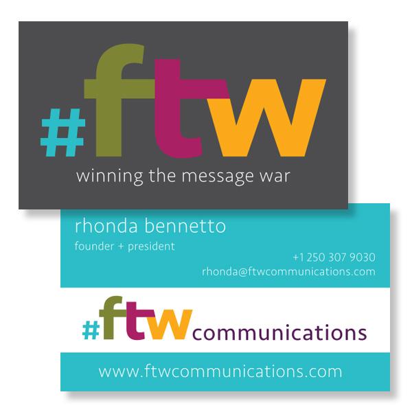 Communications Firm Vernon Logo Branding Graphic Design Website
