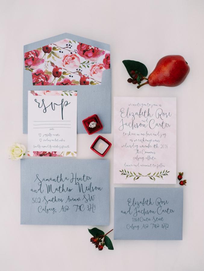 Calgary Best Wedding Invitation