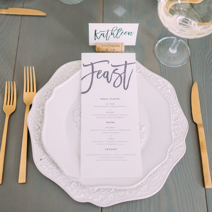 Joshua Suite - Modern Script Invite