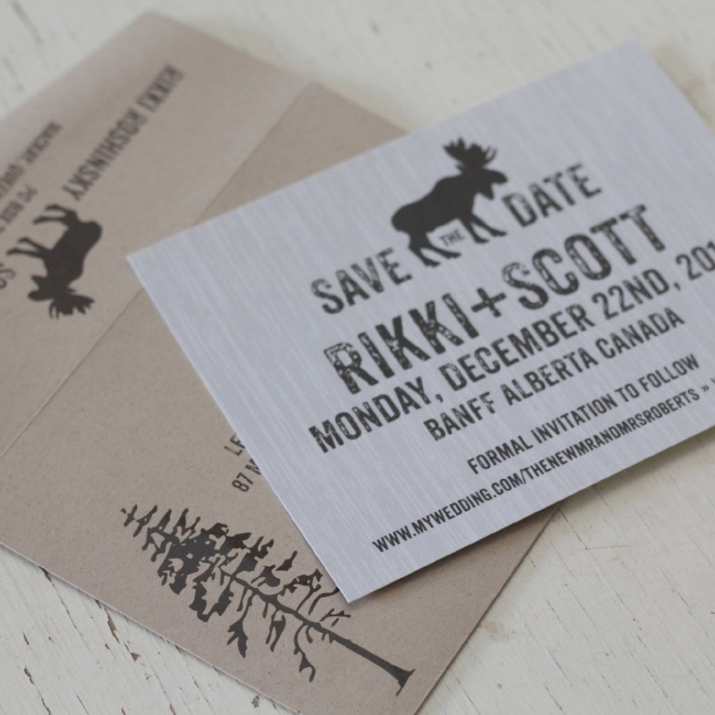 Jason Suite - Rustic Moose Save the Date