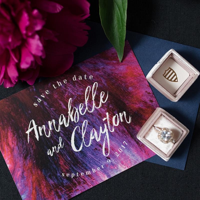 Annabelle Suite - Modern Bold Invitation