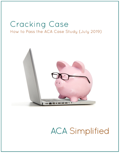 Cracking Case Book July 2019 Aca Simplified Case Study