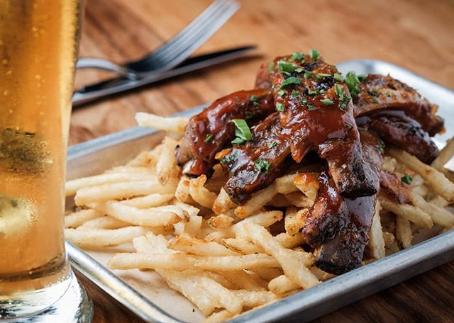 Slow down this weekend & try the slow-smoked ribs from @legacykitchen
