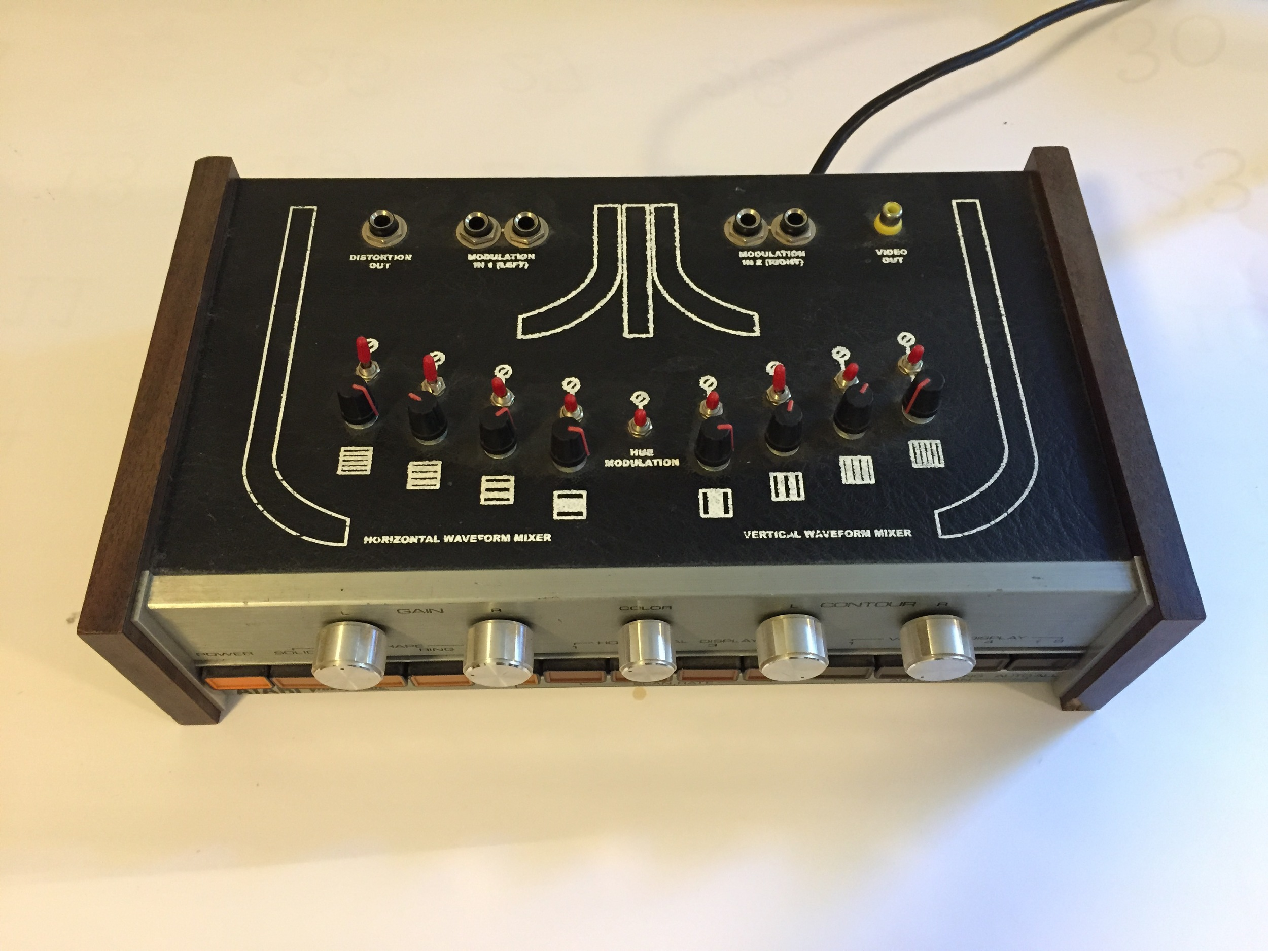 Modified Atari Video Synth