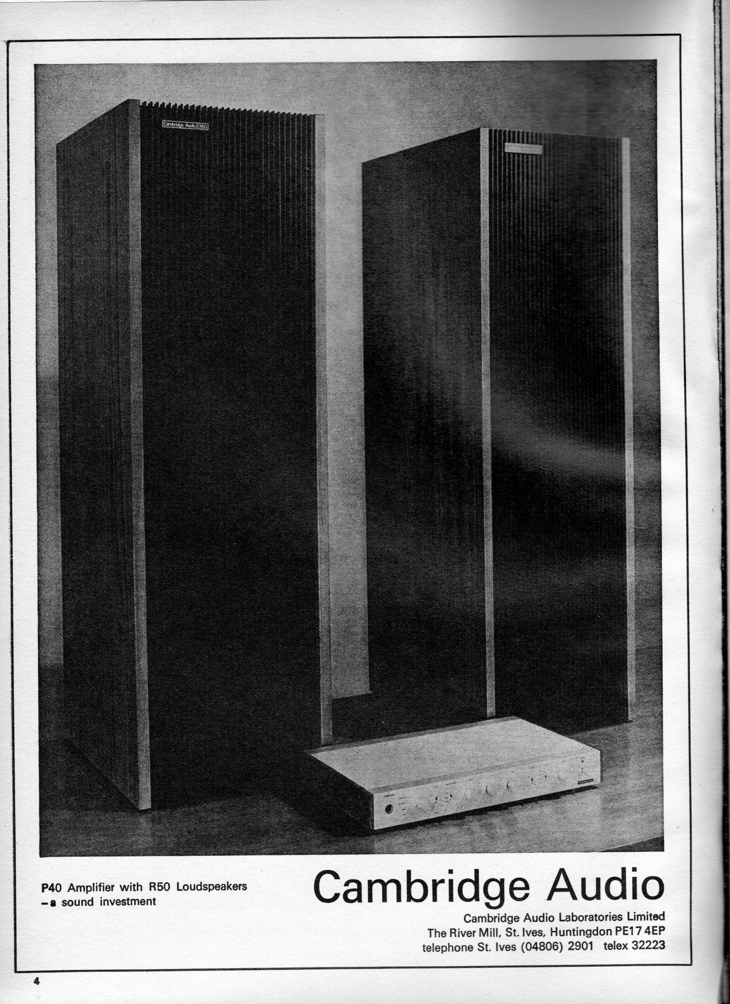Cambridge Audio P40, R50 Advert 1971.jpg