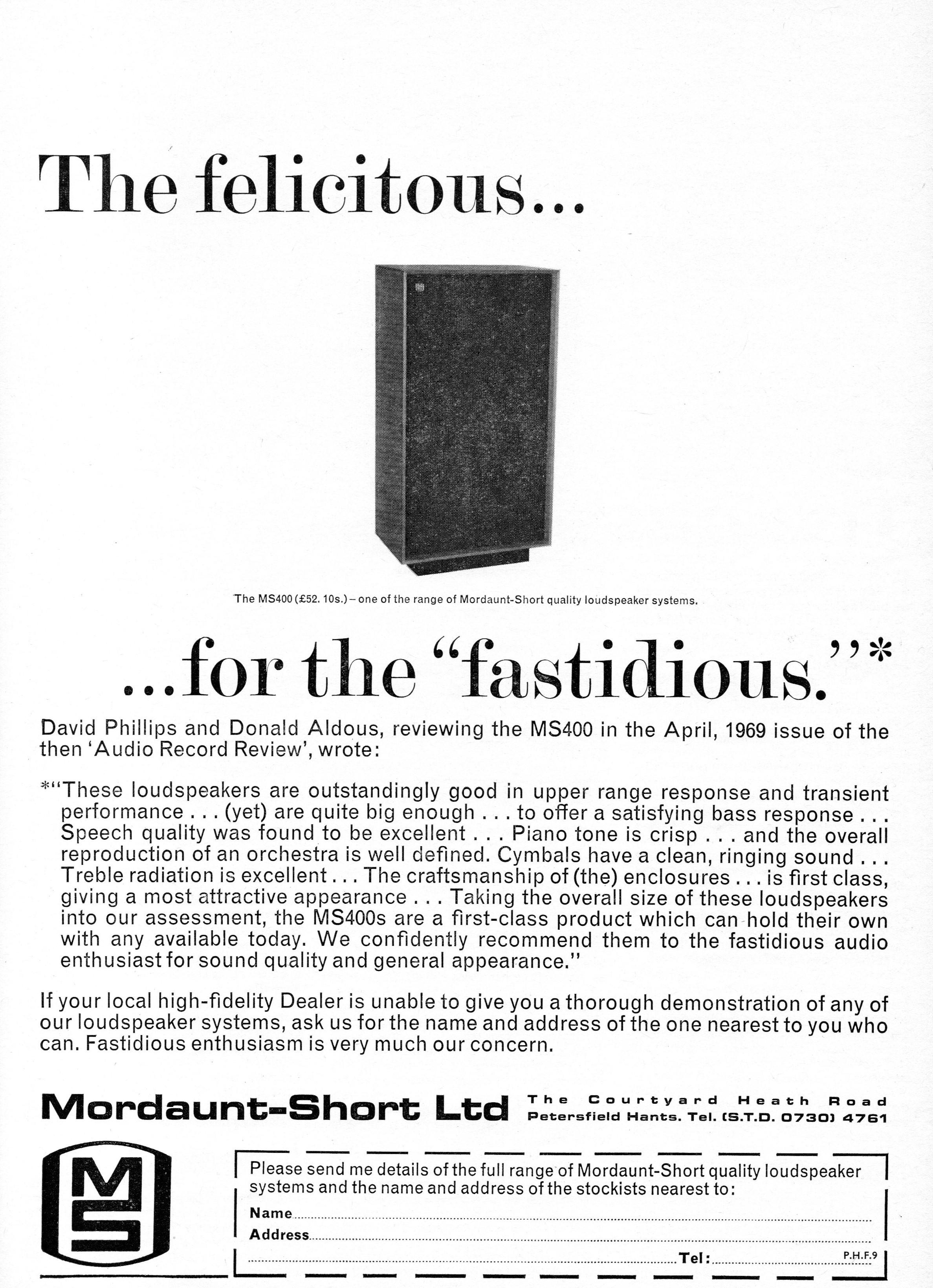 Mordant-Short MS400 Advert 1971.jpg