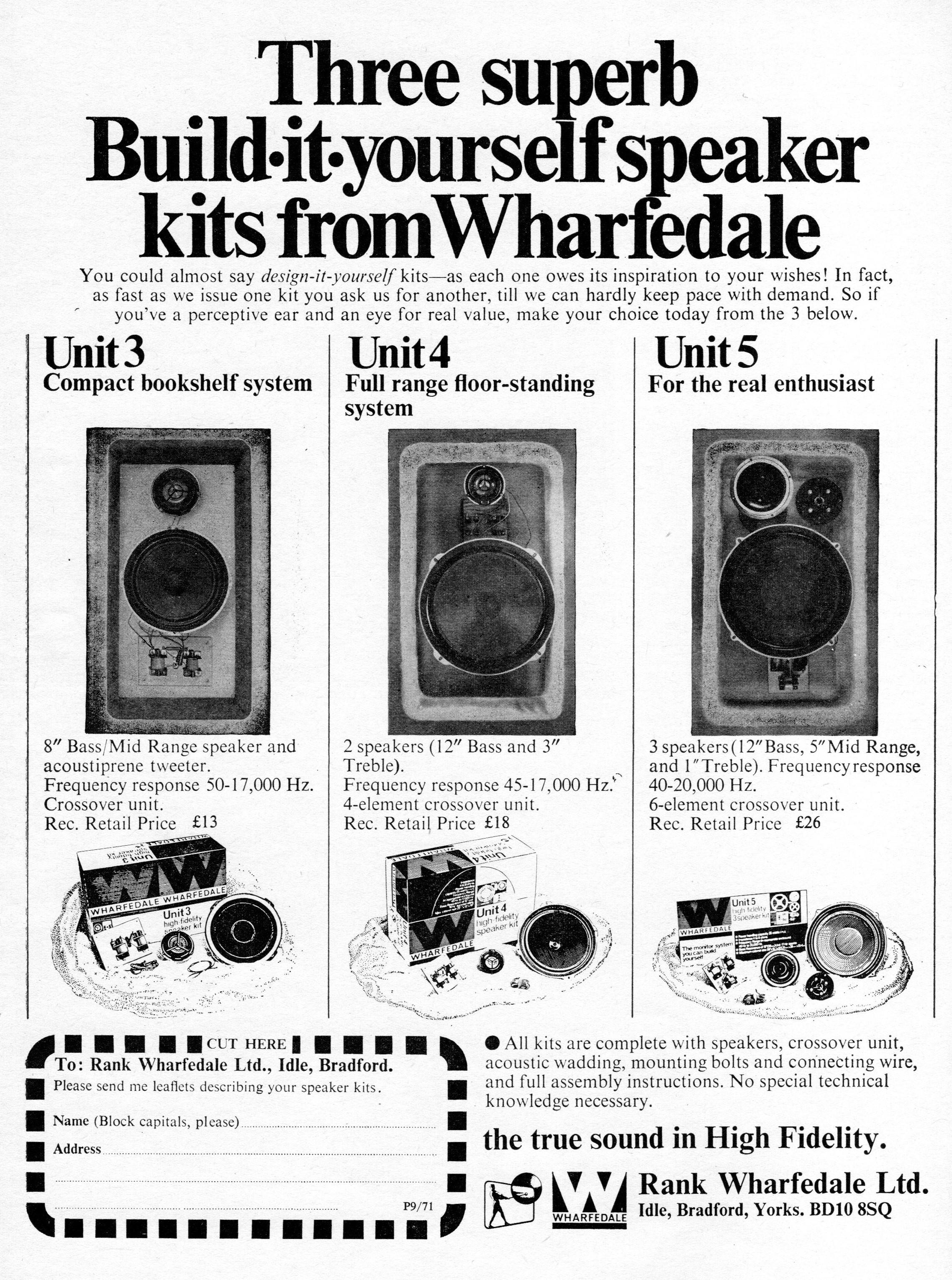 Wharfedale Unit 3, Unit 4, Unit 5 Kits Advert 1971.jpg