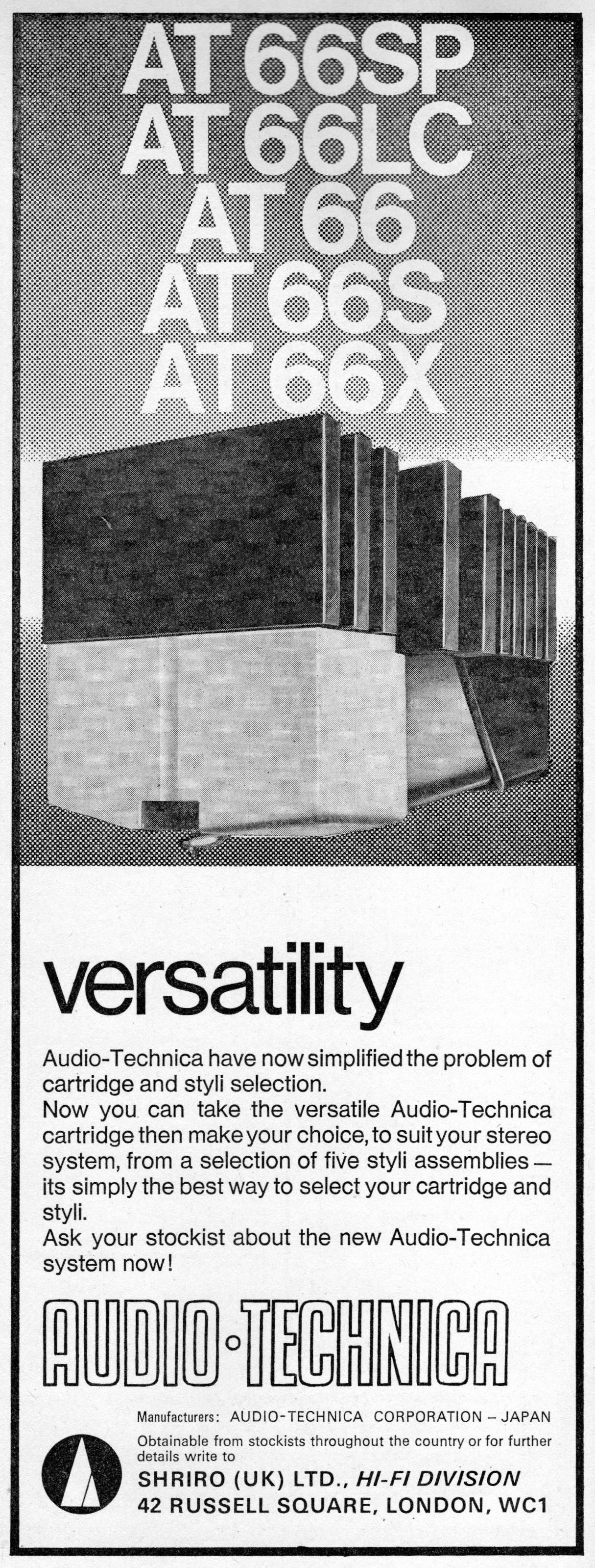 Audio Technica AT66 Advert (1971).jpg