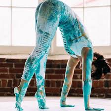 Meghan Currie- Creating Art with Yoga