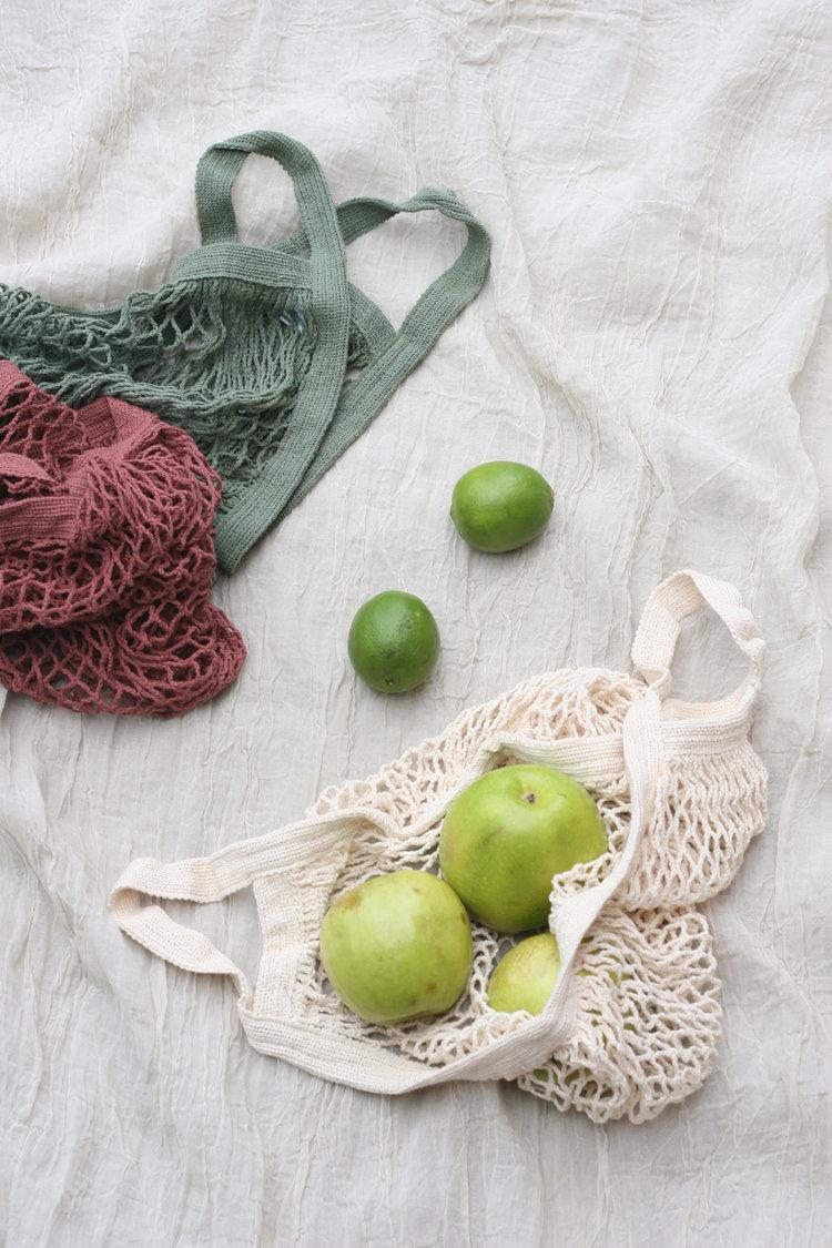 Cotton Net Grocery Bag