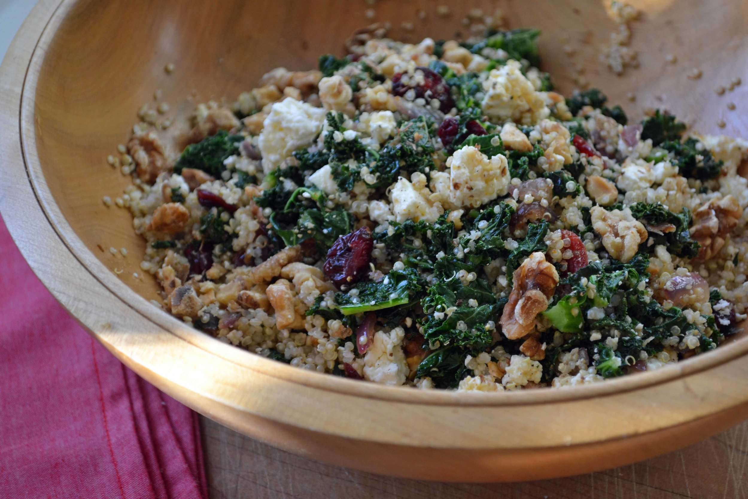 Nourish's Kale Salad
