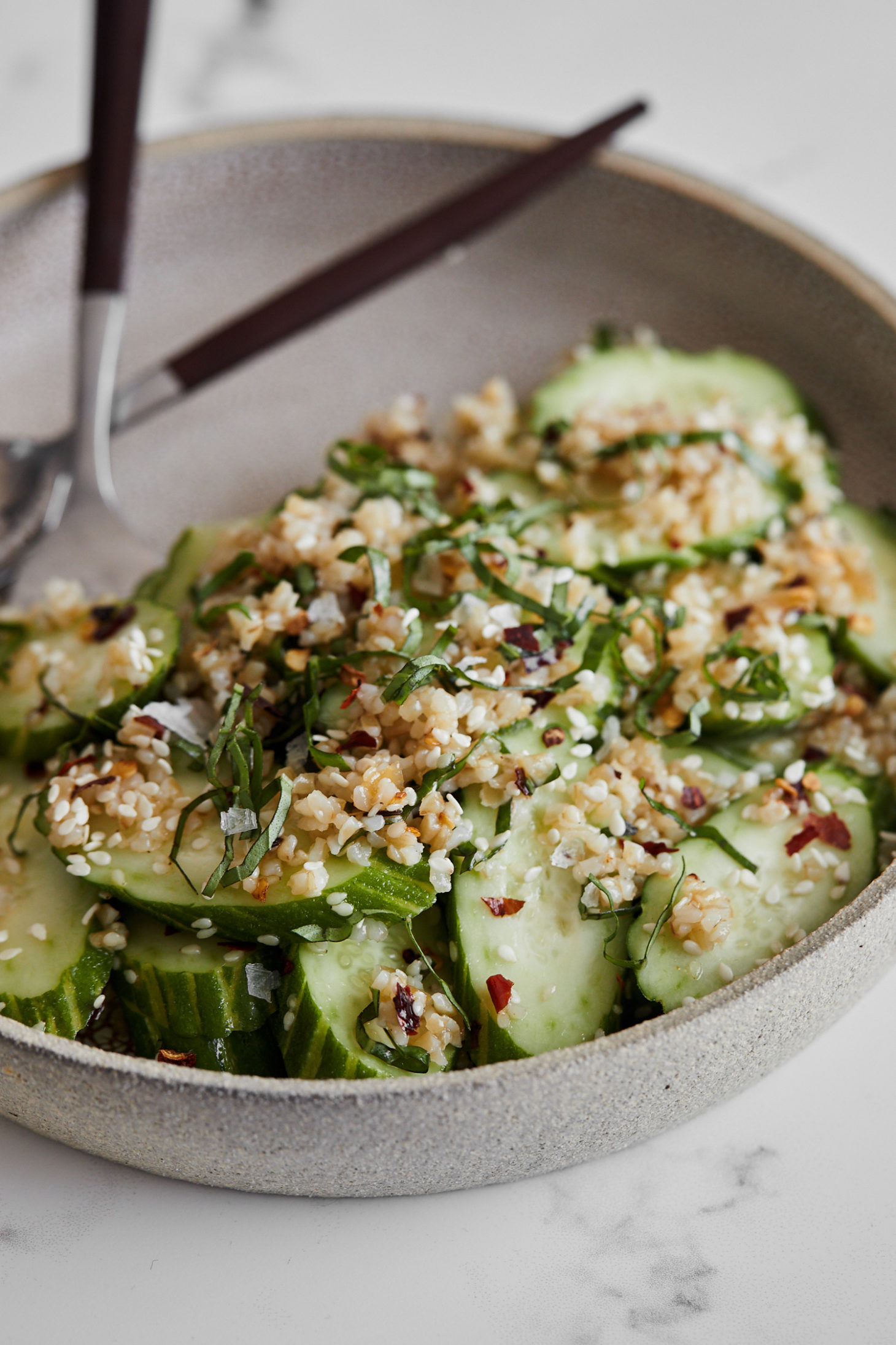 Cucumber Bulgur Salad