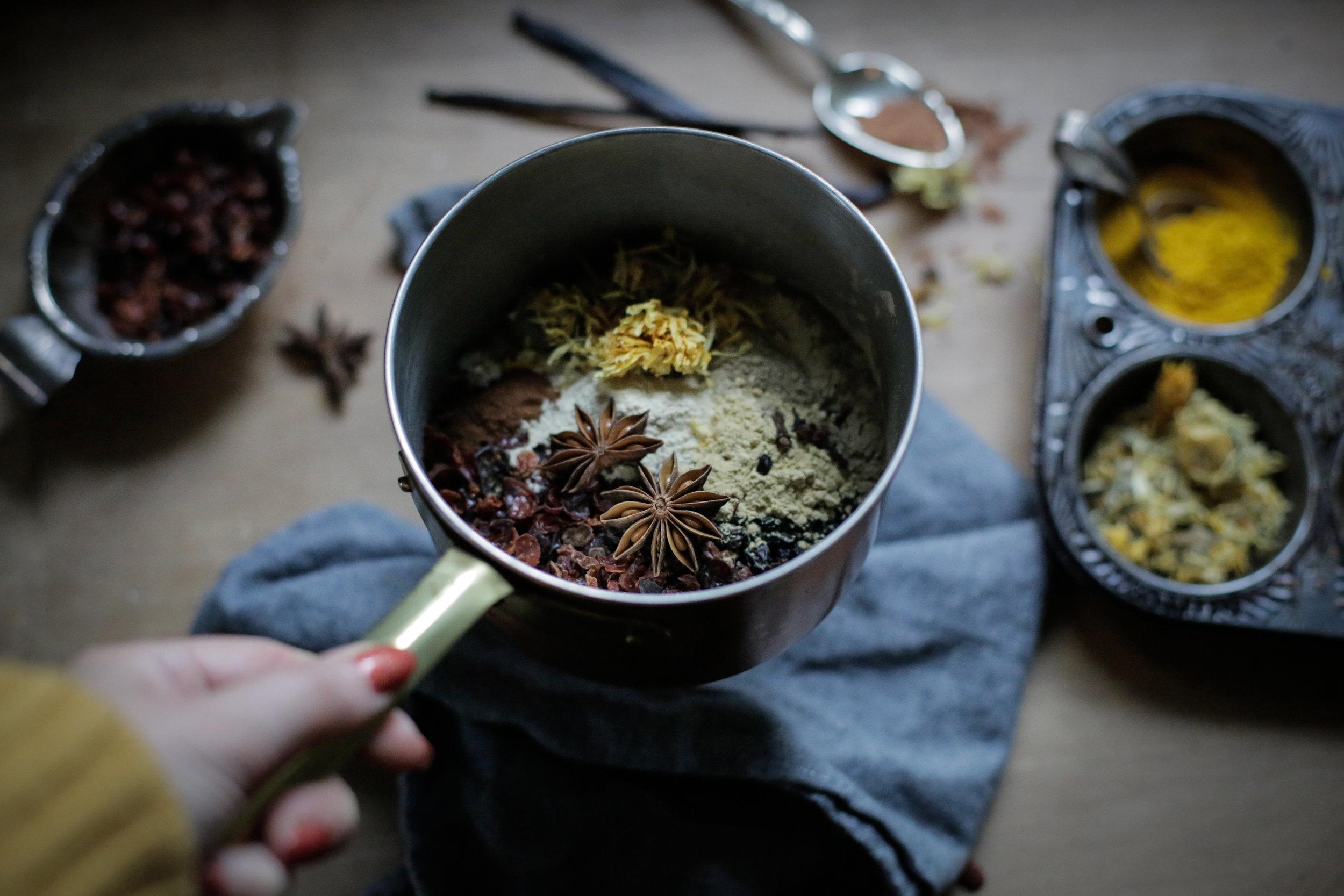 Elderberry + Echinacea Syrup