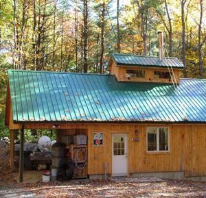 VT maple sugar house