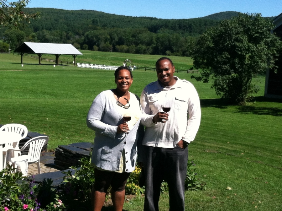 wine tasting with Vermont Guided Tours