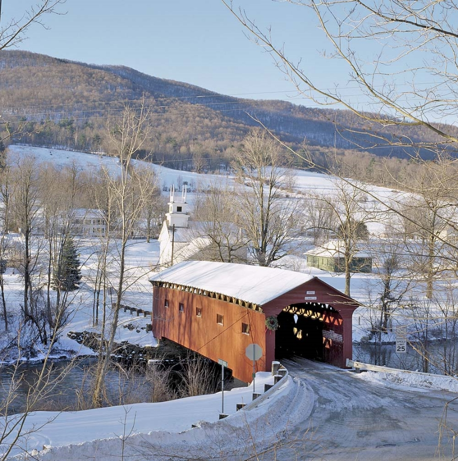 Covered Bridge Vermont Guided Tours