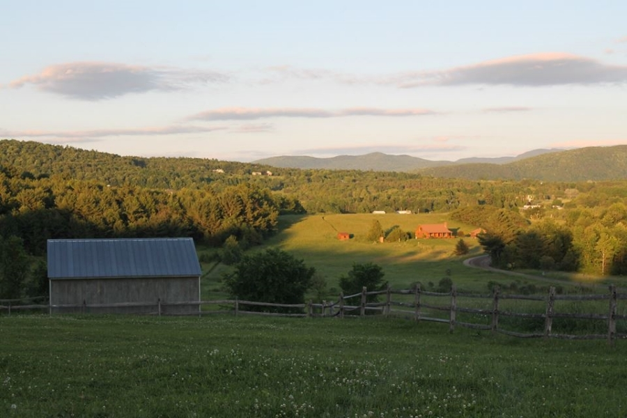 Vermont meadow landscape guided tours