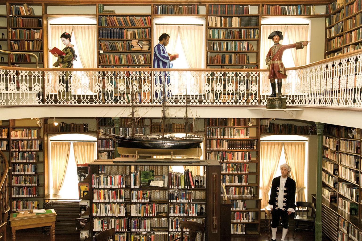 Une visite s'impose à la library
