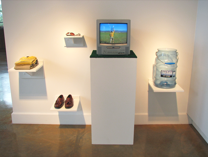 Suburban Waterwalk   on display at Northwest Museum of Art & Culture, 2009