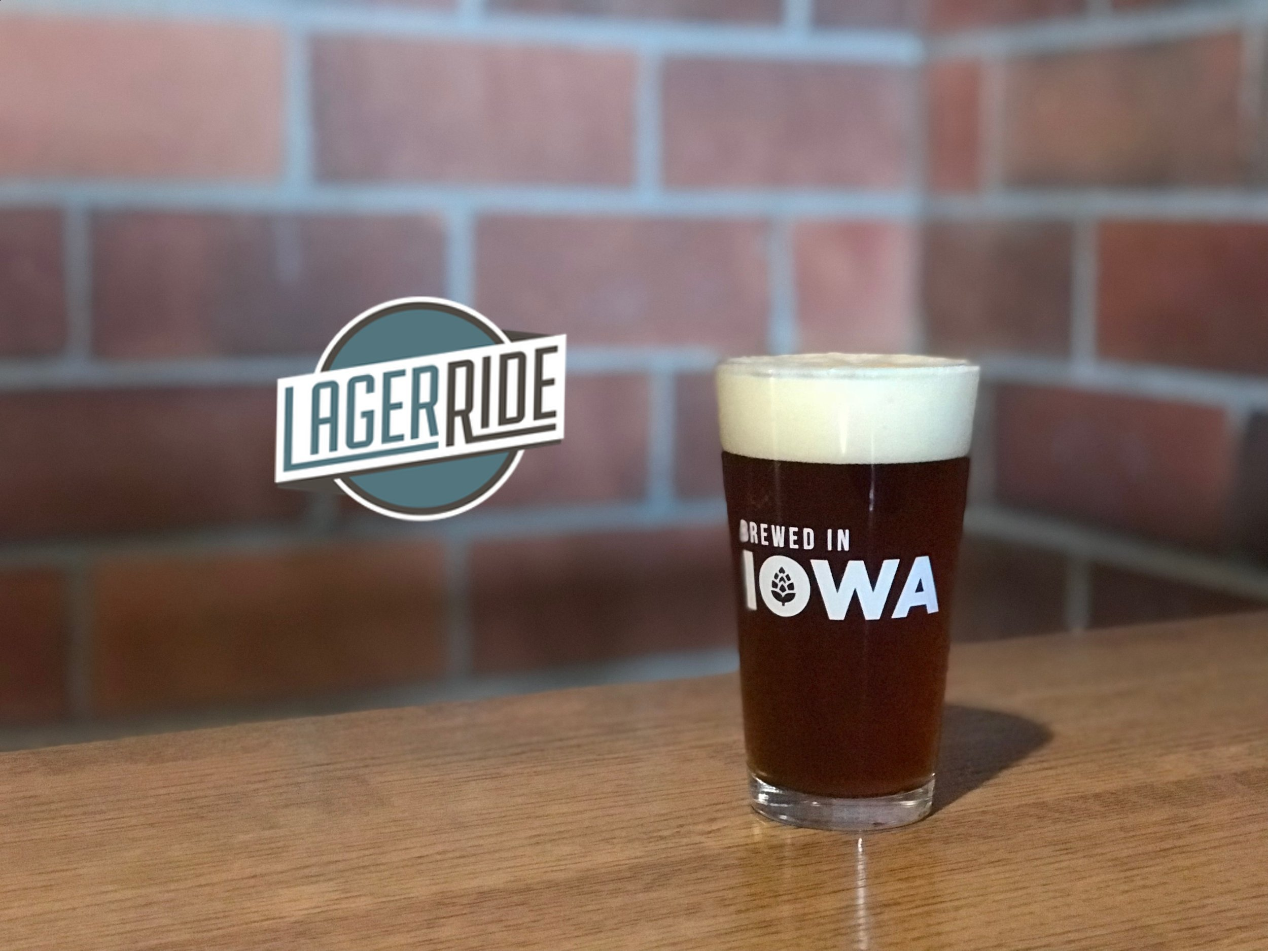 """Our easy drinking  Red Lager  is named after the Adventureland Log Ride  (""""Lager Ride"""")  whose timbers make up our deck. Sweet crystal and caramel malts bring out an inviting drinkable lager.  5.5% ABV - 14.4 IBUs"""