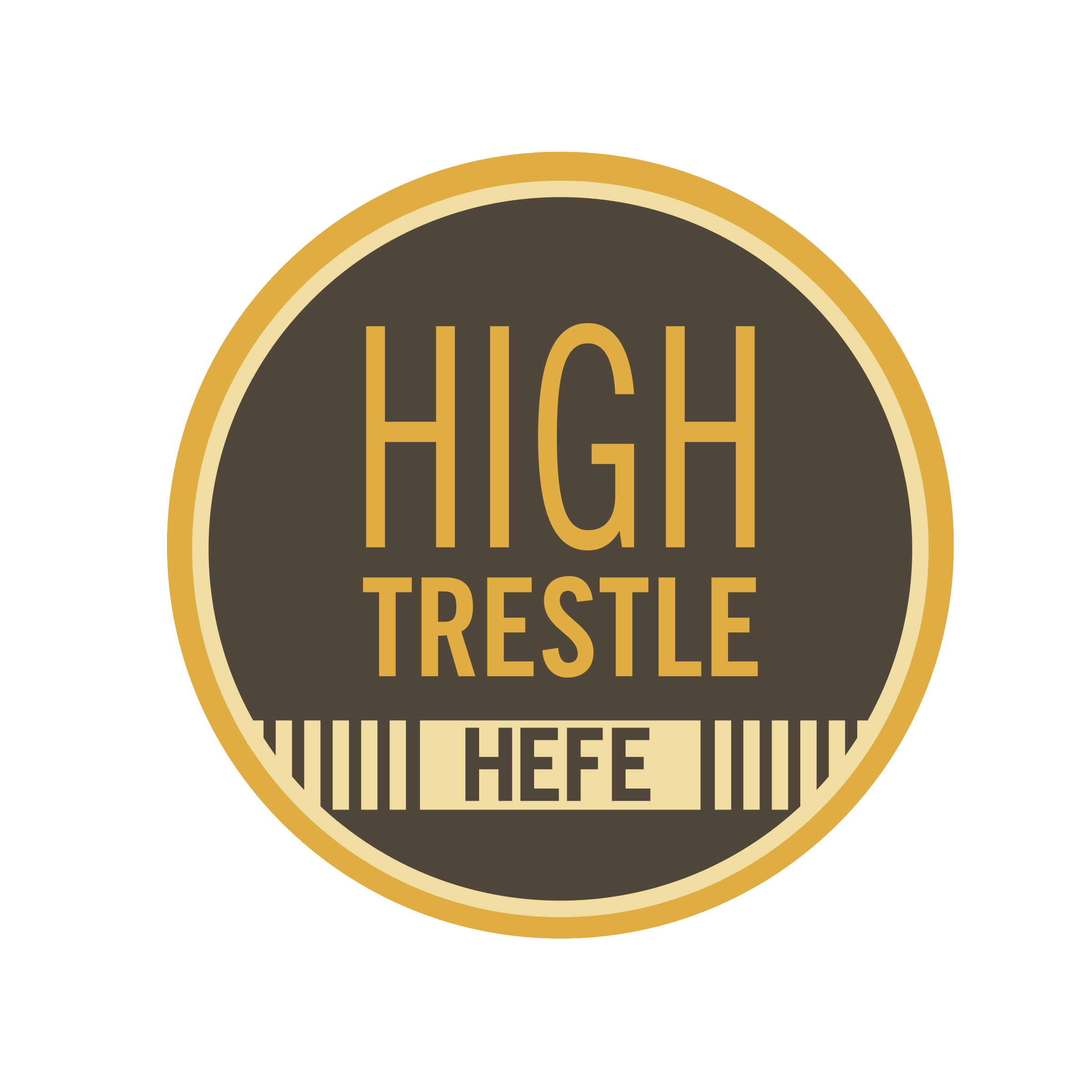 High Trestle Hefe - This German Hefeweizen is made with traditional Hefe yeast that imparts distinct banana and clove phenolics. Made with 45% wheat malt this brew is sure to quench your summer thirst!5.25% ABV - 21.7 IBUs