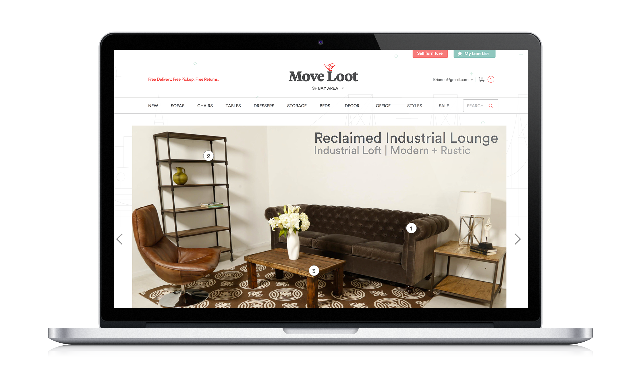 MOVE LOOT: Designinga UX Client-based Project