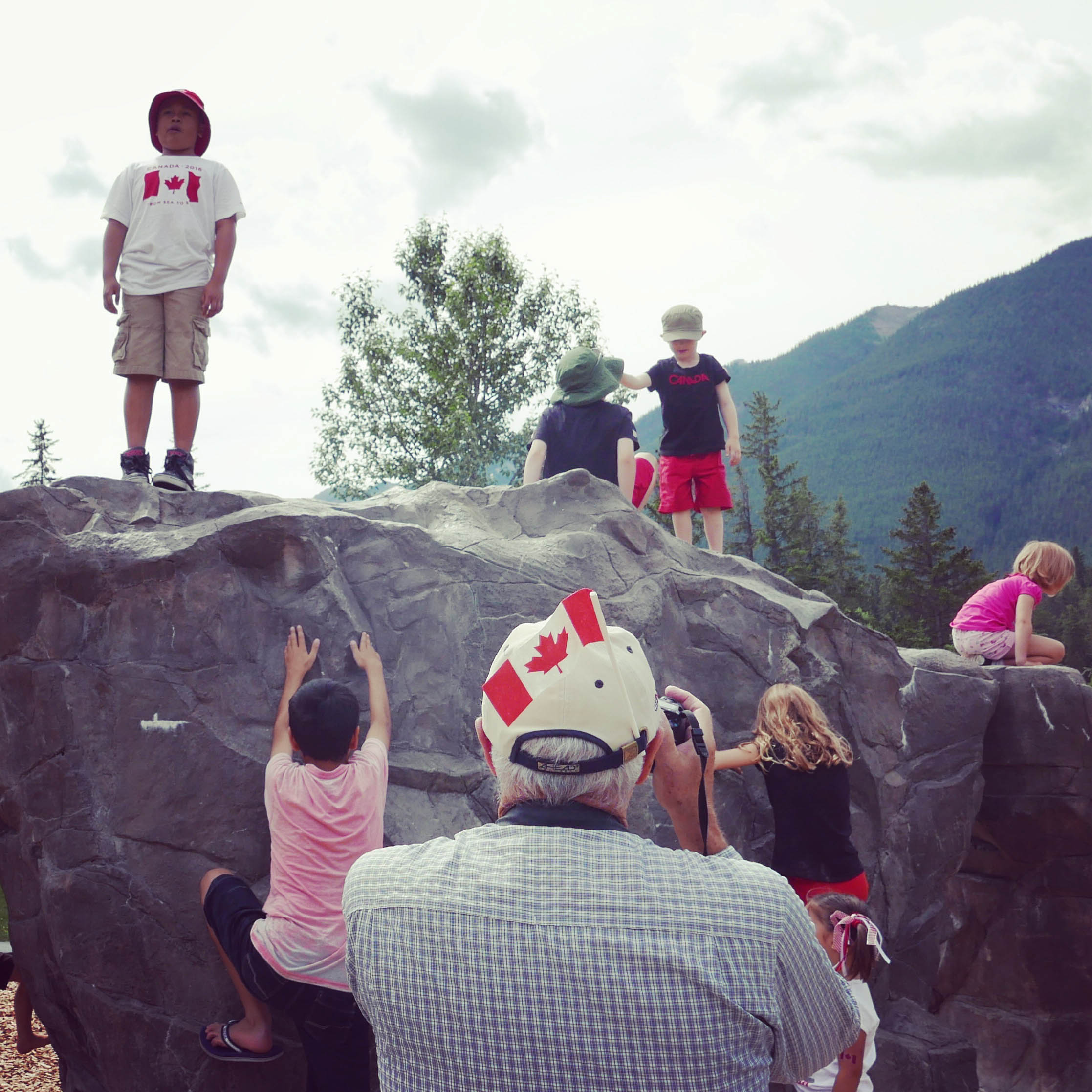 Canada Day celebrations, Banff, Alberta, 2016.