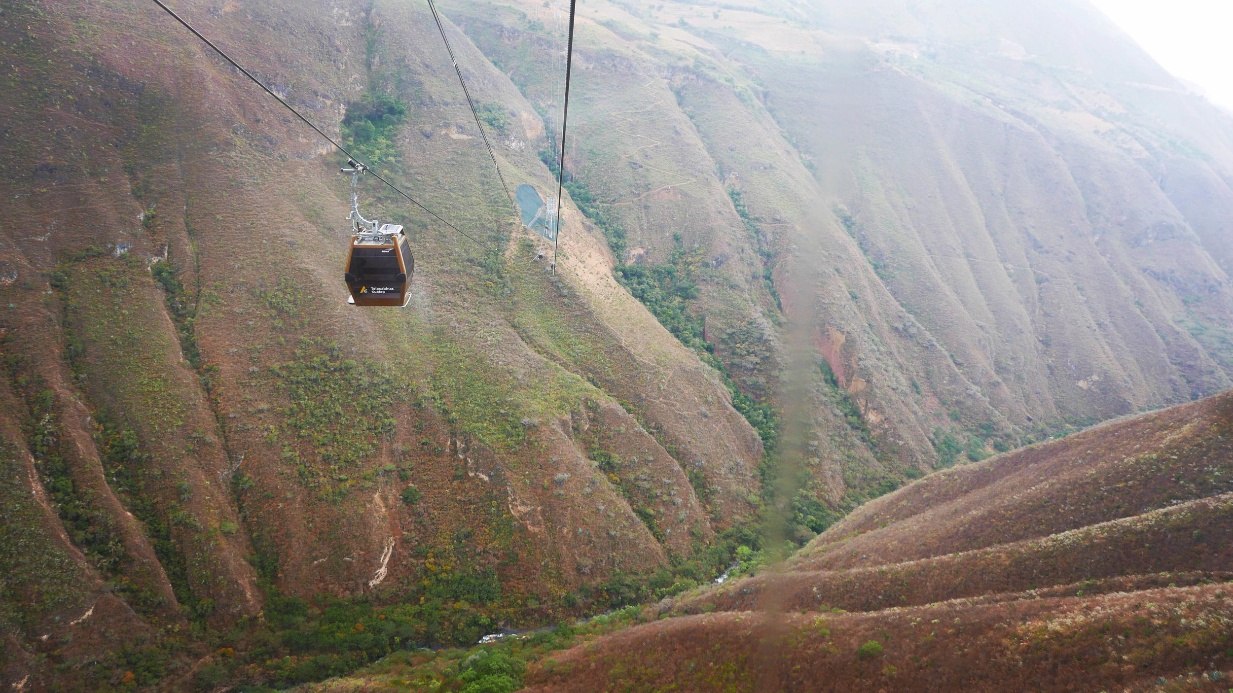 Building Infrastructure is key to managing fragile sites. This new cable car is part of a sustainable plan to open up tourism in Chachapoyas, a region in northern Peru.