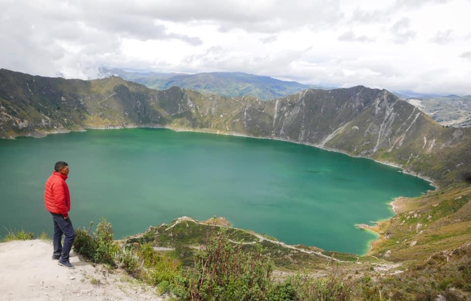 Quilotoa. Would love to hike its perimeter la próxima vez!