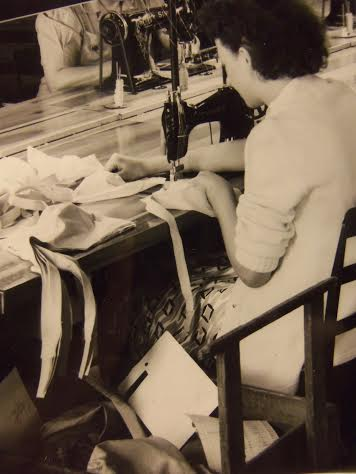 A Gossard Girl- busy at work!