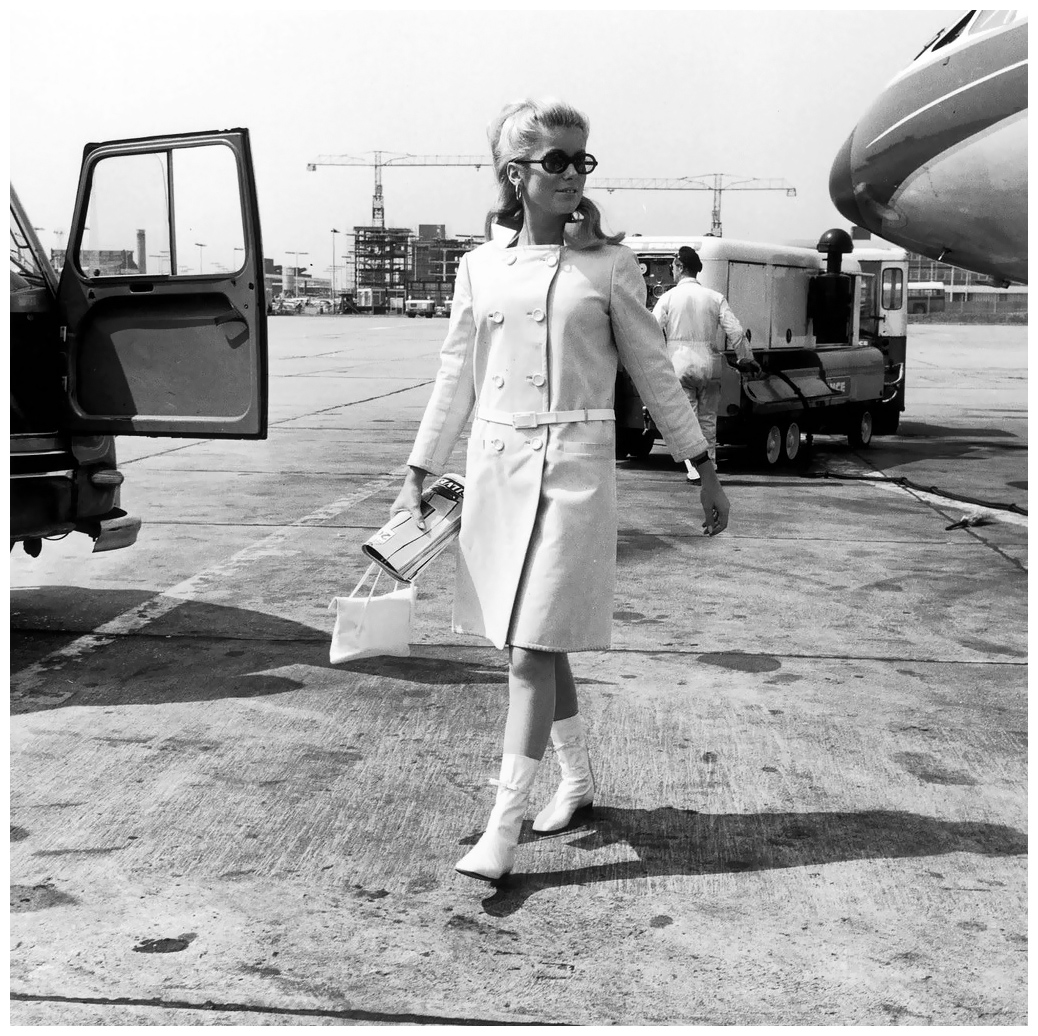 Catherine Deneuve in Courrèges