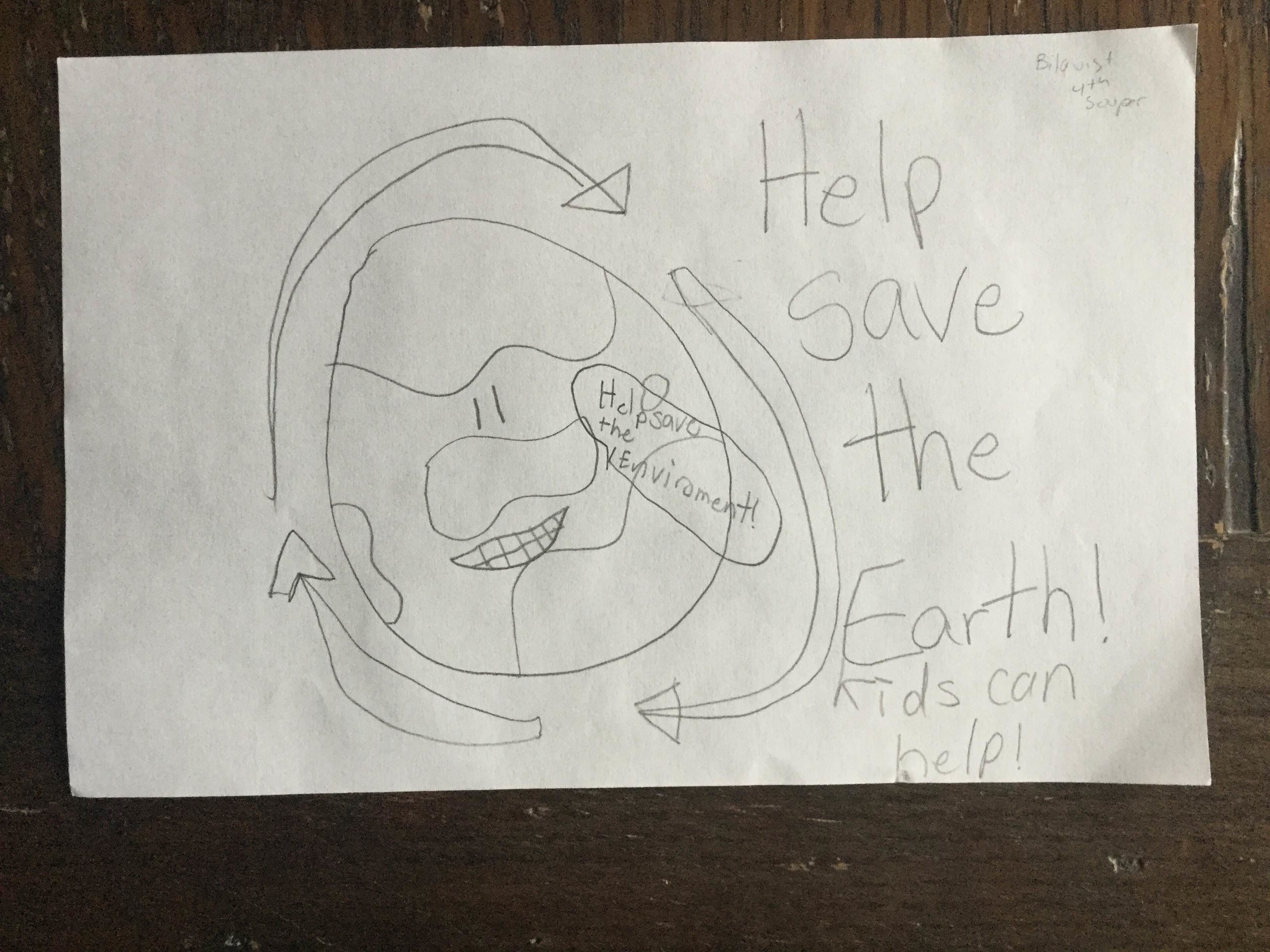 Image by a 4th grade ECO student, 2016.