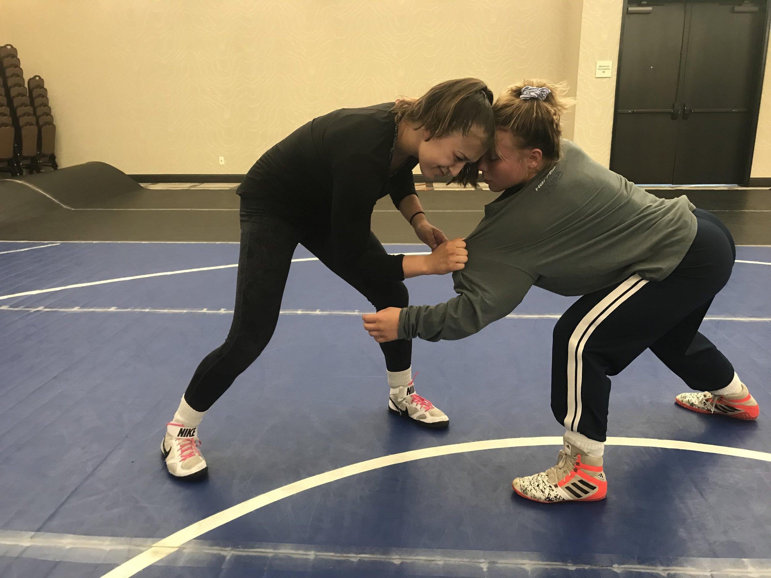 Wrestling Gear Doesn't Cut it for Women