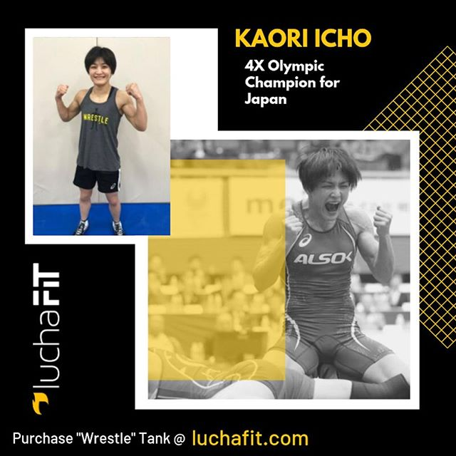 Kaori Icho repping LuchaFit's Wrestle Tank! 💪😆😎⠀ ⠀ Rep yours 🔗 in Bio ⠀ ⠀ 📷: United World Wrestling/Sachiko Hotaka⠀ ⠀ #luchafit #luchafitfamily #athleteblog #athleteslife⠀ #athleteblogger #wrestling #wrestlelikeagirl #girlswrestling #luchaleague #womenswrestling #womeninsport #freestylewrestling #athlete #strugglefightwrestle #womensempowerment #luchafitstickers #luchafitgear #luchagear