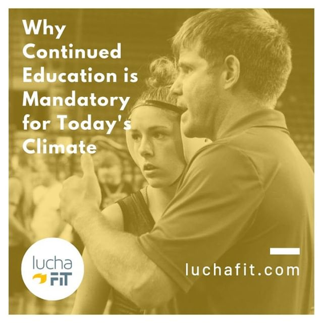 "As programs are beginning to expand once again, and exponentially in the women's sector, there is a shortage of wrestling coaches available for these opportunities. Enter the National Wrestling Coaches Association (@nwcawrestling). 🤼⠀ ⠀ ""Why Continued Education is Mandatory for Coaches in Today's Climate "" 📚⠀ ⠀⠀ 📖: Link in Bio ⠀ ⠀ #luchafit #luchafitfamily #athleteblog #athleteslife #athleteblogger #wrestling #wrestlelikeagirl #girlswrestling #luchaleague #womenswrestling #womeninsport #freestylewrestling #athlete #strugglefightwrestle #womensempowerment"