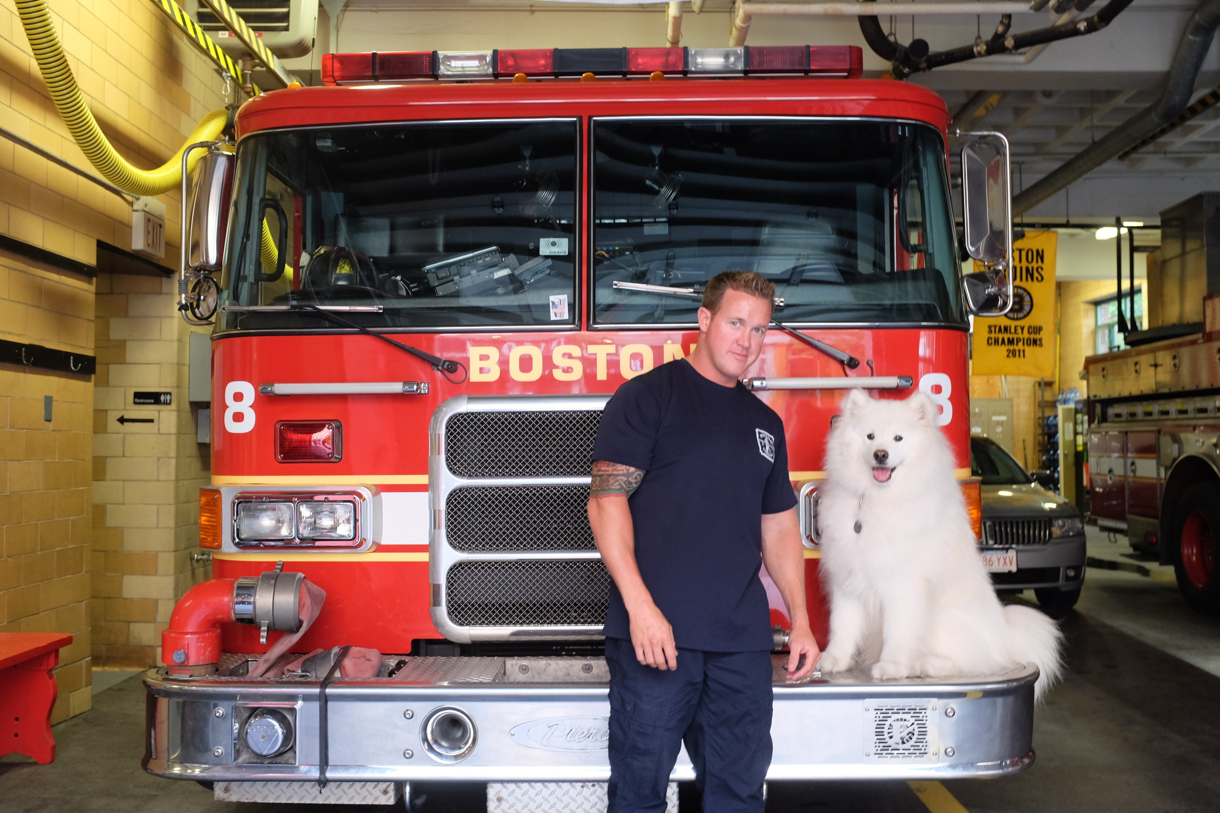 Engine 8, Boston's North End