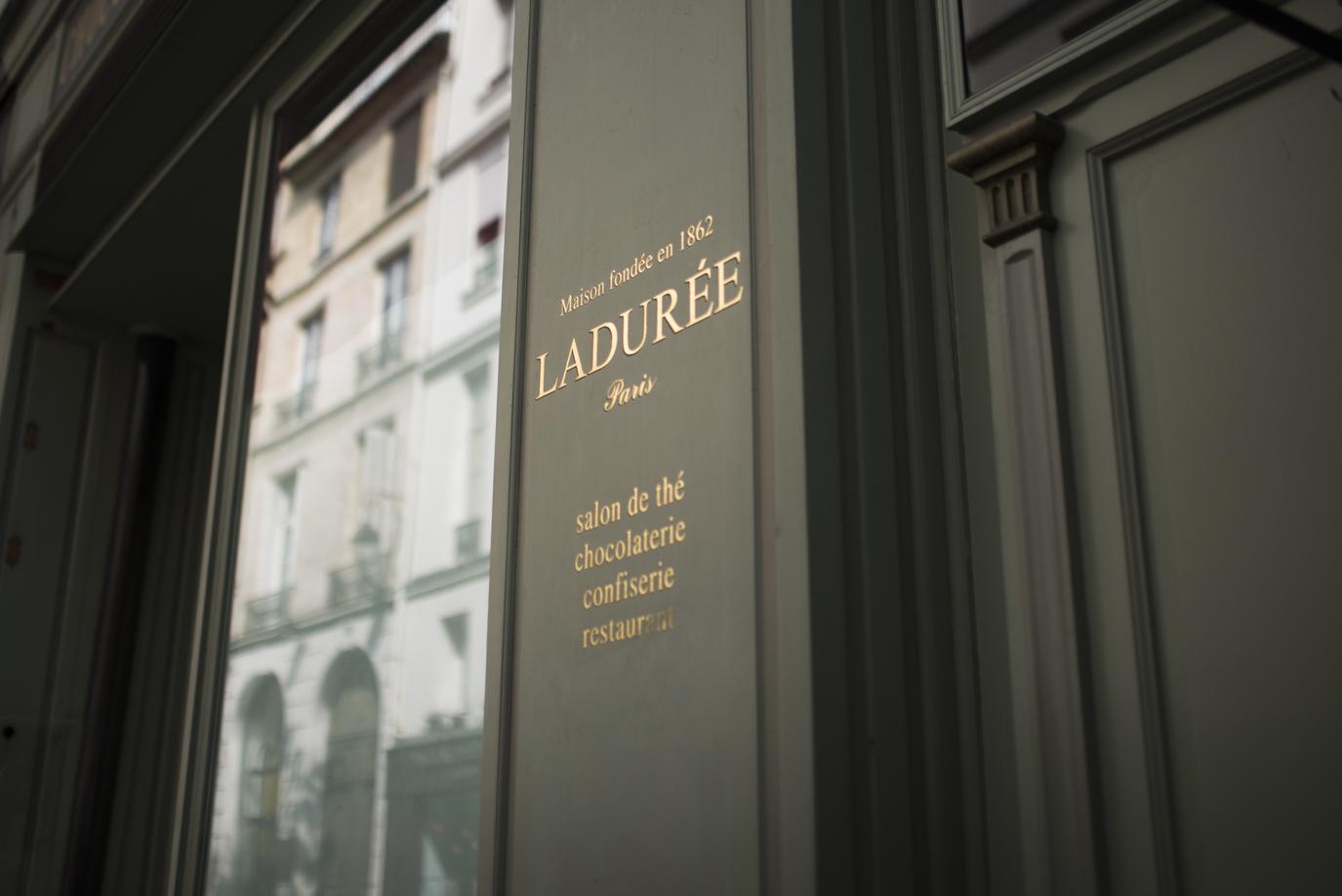 My love. Ladurée