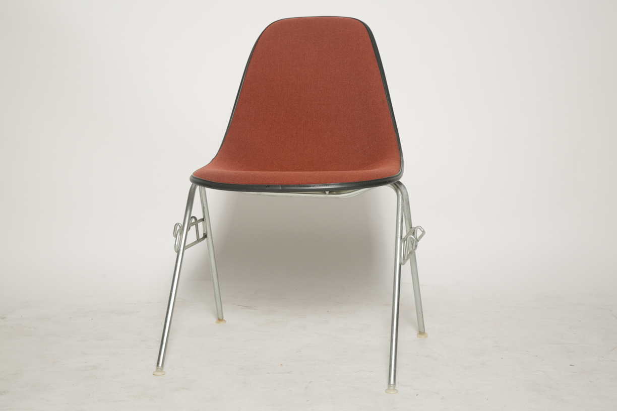 Charles and Ray Eames Stacking Shell Chairs