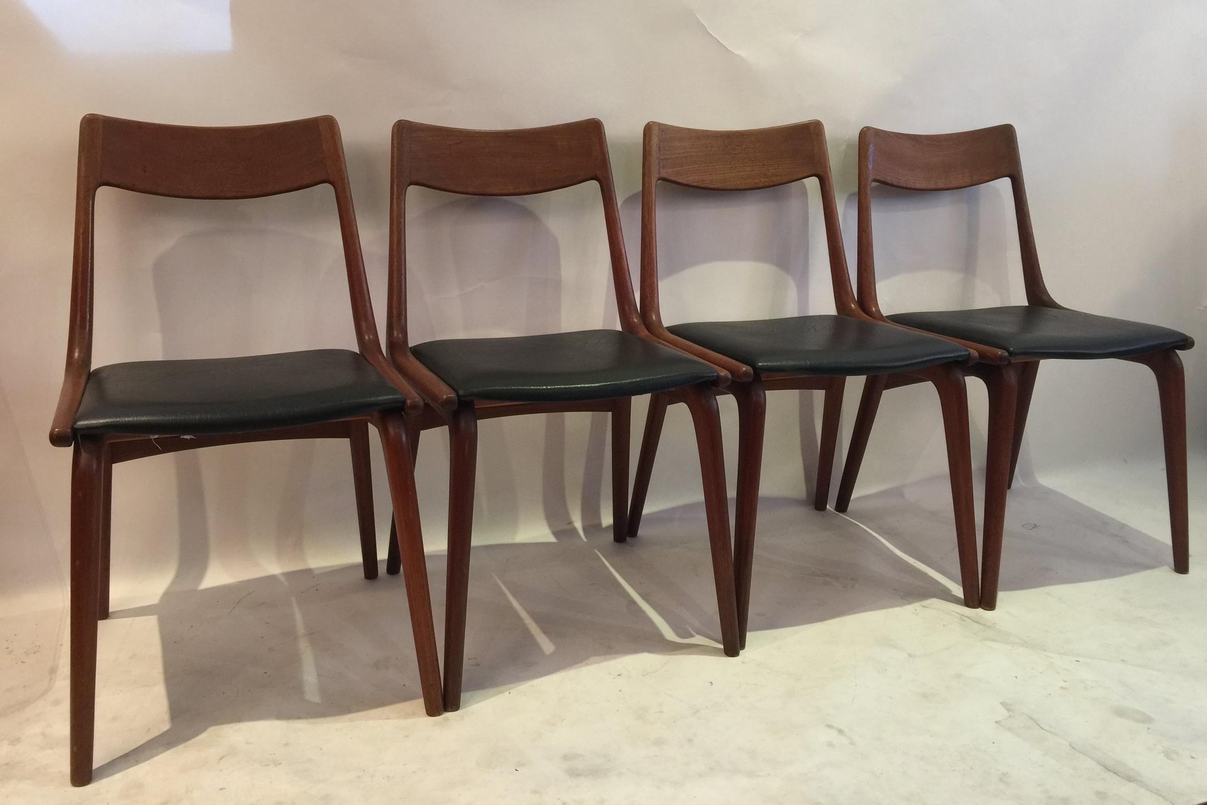Erik Christensen Boomerang Chairs for Slagelse