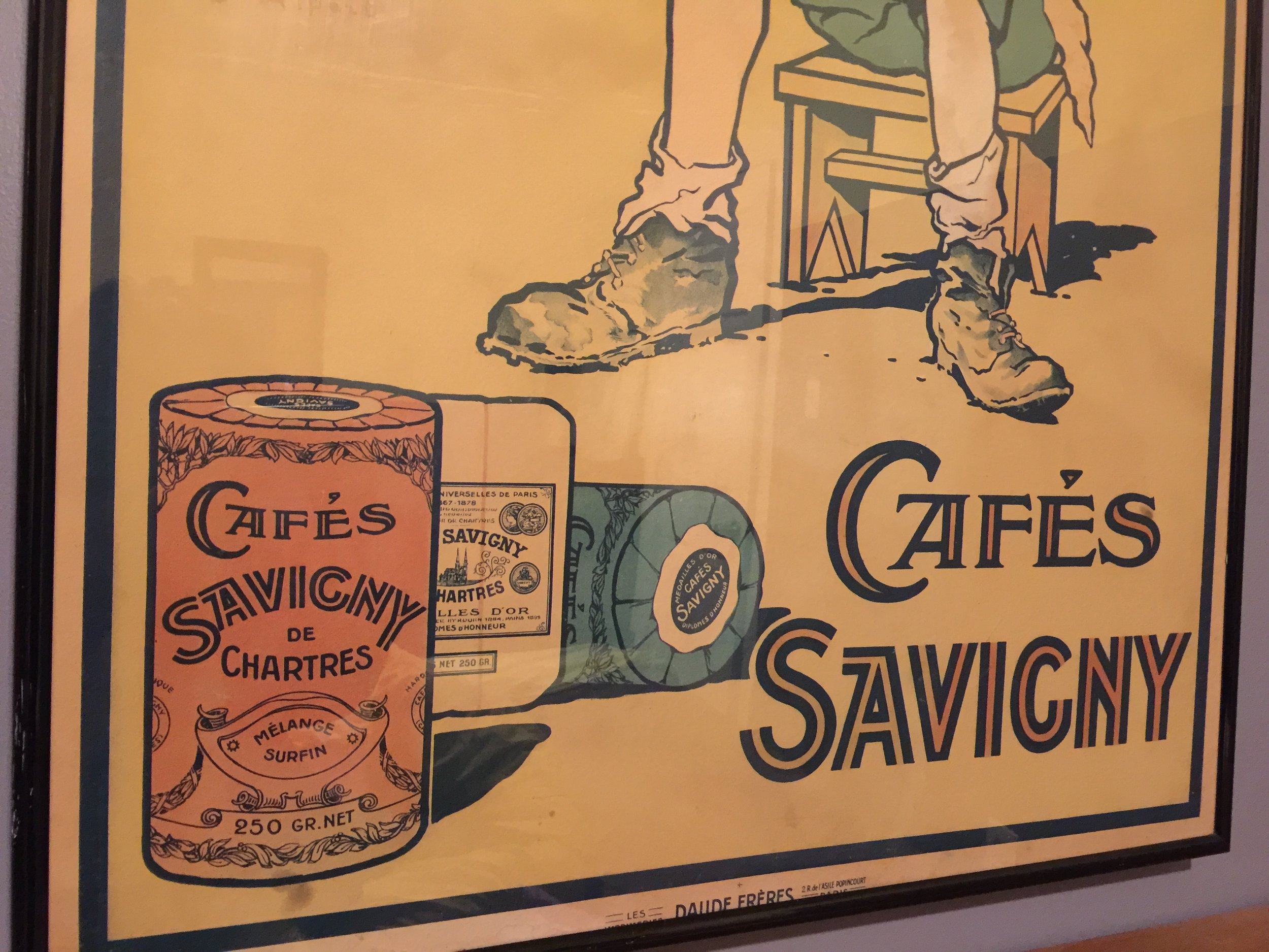 Georges Ripart - cafés Savigny ad by Daude Frères 4.JPG