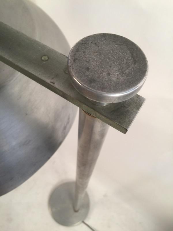 Kurt Versen 'Flip Flop' Industrial floor lamp