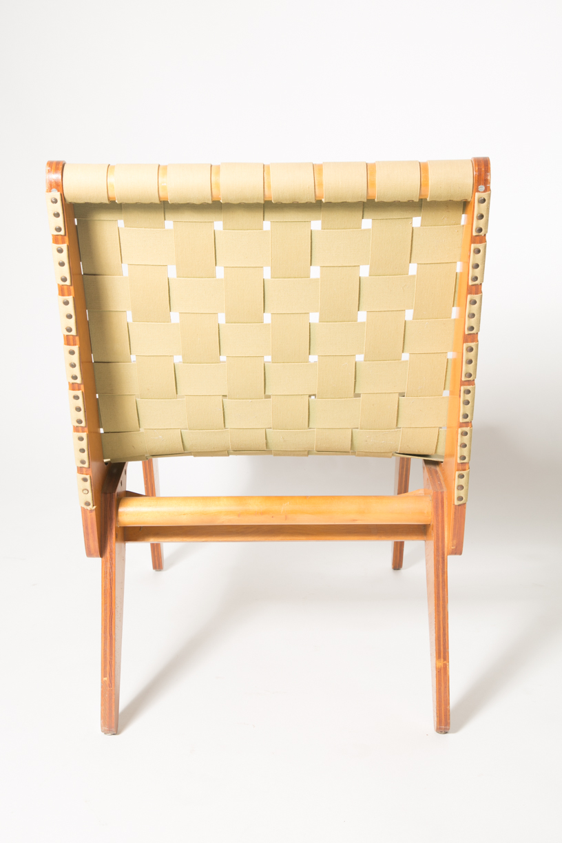 Klause Grabe architect built lounge chair