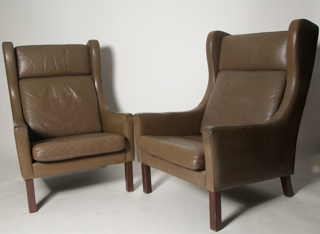 Borge Mogensen Wingback Chairs