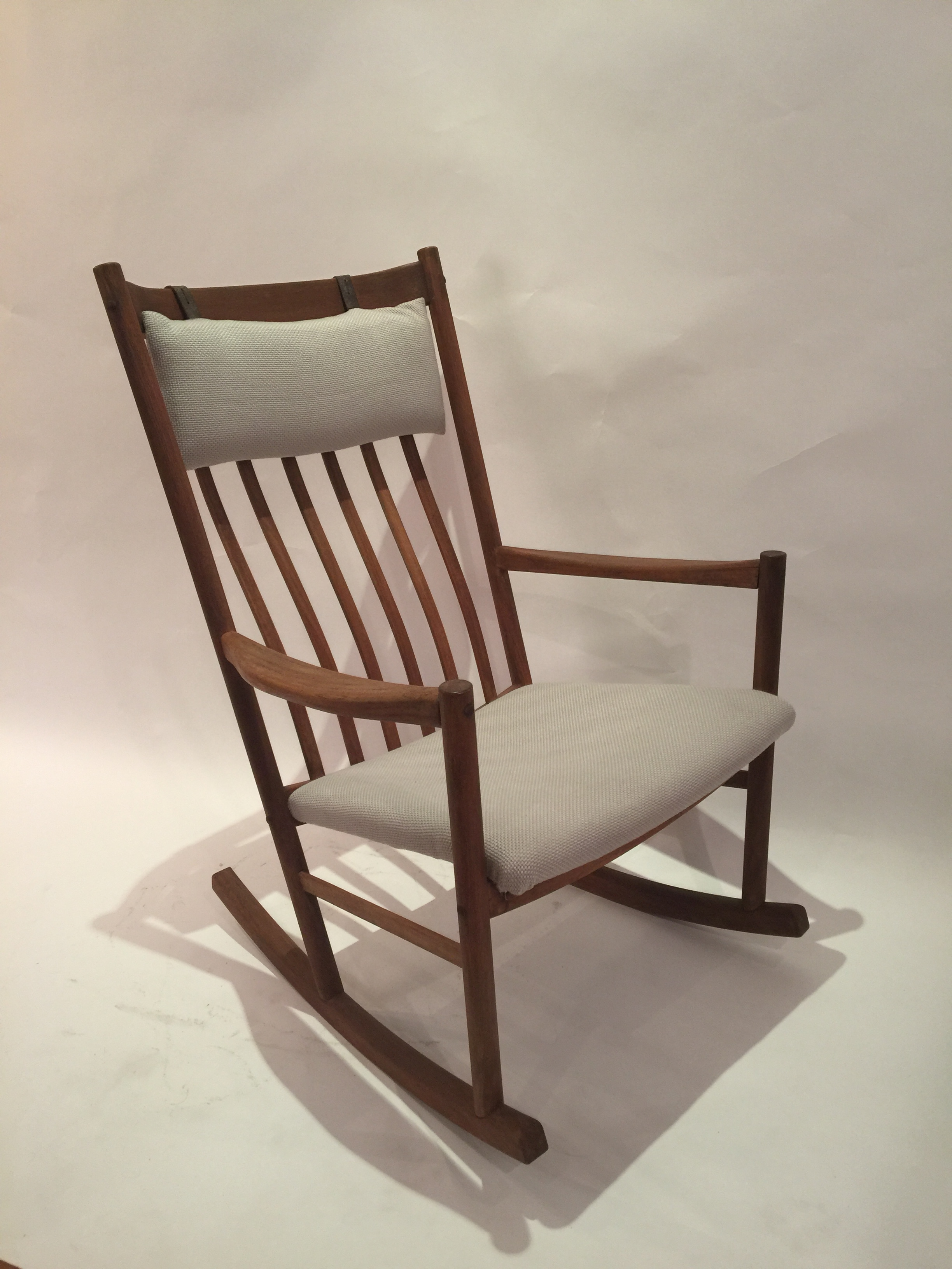 Hans J. Wagner Rocking Chair for Tarm Stole